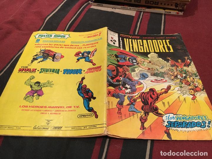 LOS VENGADORES - Nº 47 - VOL2 - MUNDI COMICS , 1978 VERTICE (Tebeos y Comics - Vértice - Vengadores)
