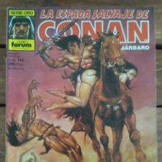 Cómics: LA ESPADA SALVAJE DE CONAN. 2ª EDIC. Nº 143. Lote 161024454