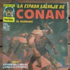 Cómics: LA ESPADA SALVAJE DE CONAN. 2ª EDIC. Nº 141. Lote 161024962
