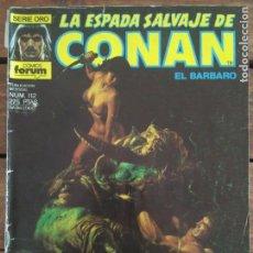 Cómics: LA ESPADA SALVAJE DE CONAN. 2ª EDIC. Nº 112. Lote 161025082