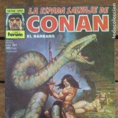 Cómics: LA ESPADA SALVAJE DE CONAN. 2ª EDIC. Nº 157. Lote 161025214