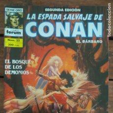 Cómics: LA ESPADA SALVAJE DE CONAN. 2ª EDIC. Nº 32. Lote 161025302