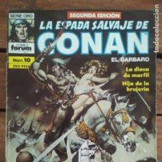 Cómics: LA ESPADA SALVAJE DE CONAN. 2ª EDIC. Nº 10. Lote 161025418
