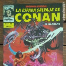 Cómics: LA ESPADA SALVAJE DE CONAN. 2ª EDIC. Nº 30. Lote 161025554