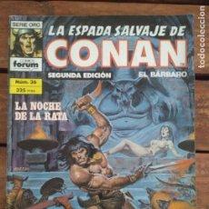 Cómics: LA ESPADA SALVAJE DE CONAN. 2ª EDIC. Nº 36. Lote 161025734