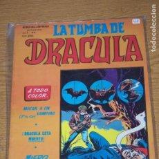 Cómics: ESCALOFRÍO LA TUMBA DE DRACULA Nº 6. Lote 161087518