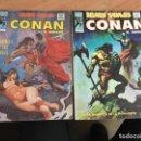 Cómics: RELATOS SALVAJES CONAN EL BARBARO LOTE V1 Nº 30 Y 48 (COIM26). Lote 161291398
