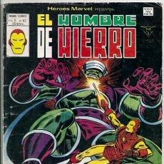 Cómics: EL HOMBRE DE HIERRO: ¡DOLORES CRECIENTES! / HÉROES MARVEL V2, 62 - VÉRTICE, 07/1980 | IRON MAN. Lote 145541333