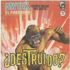 Cómics: MYTEK EL PODEROSO. Nº 10. DESTRUIDO?. EDITORIAL VERTICE . C-34. Lote 161437326