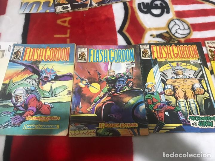 LOTE DE TRES CÓMICS FLASH GORDON VOLUMEN 2 NÚMEROS 17-18-19 (Tebeos y Comics - Vértice - Flash Gordon)