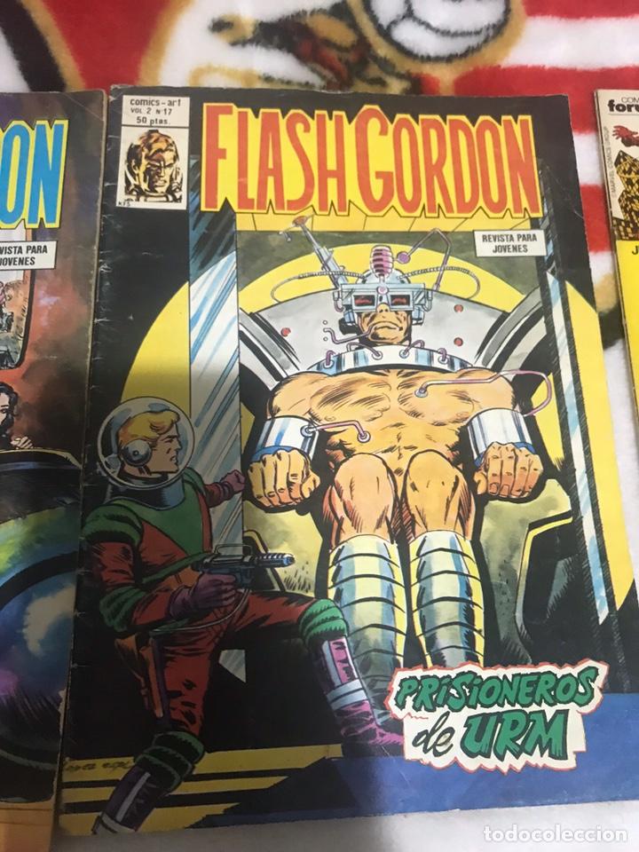 Cómics: Lote de tres cómics Flash Gordon Volumen 2 números 17-18-19 - Foto 2 - 161497884