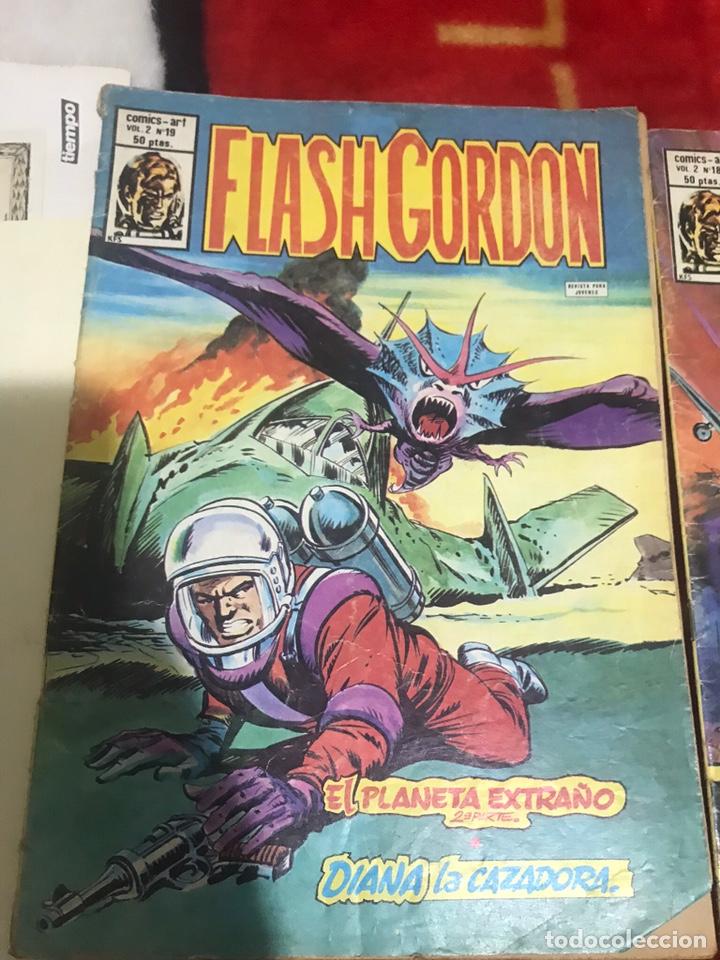 Cómics: Lote de tres cómics Flash Gordon Volumen 2 números 17-18-19 - Foto 4 - 161497884