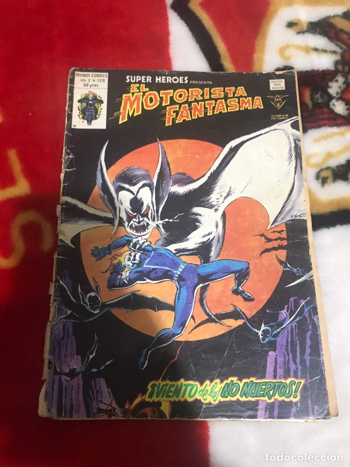 SUPER HEROES VERTICE V2 Nº 129 EL MOTORISTA FANTASMA (Tebeos y Comics - Vértice - Super Héroes)