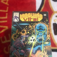 Cómics: MÁQUINA VITAL NUMERO 2-¡VALE POR DIEZ,MÁQUINA MALIGNA!-1980-ÚLTIMA GRAN CREACIÓN DE JACK KIRBY. Lote 161502570