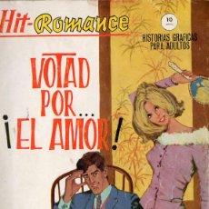 Cómics: HIT-ROMANCE Nº 7 VOTAD POR...¡EL AMOR!. Lote 161842986