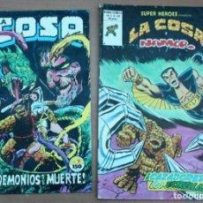 Cómics: LOTE DE 2 CÓMIC LA COSA. Lote 161926194