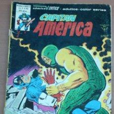 Cómics: LOTE DE 2 CÓMIC DEL CAPITÁN AMÉRICA. Lote 161927758