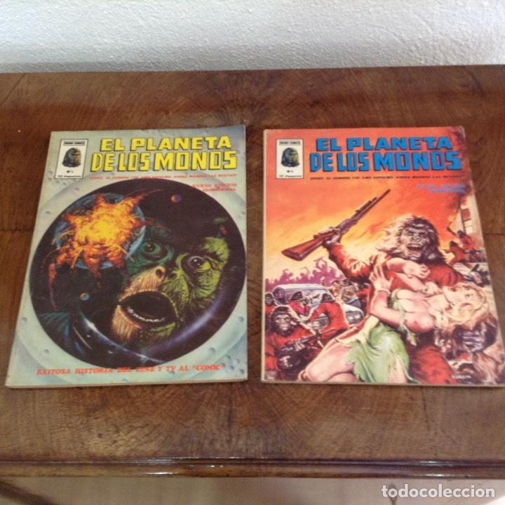 EL PLANETA DE LOS MONOS NUM 4 Y 6 (Tebeos y Comics - Vértice - Otros)
