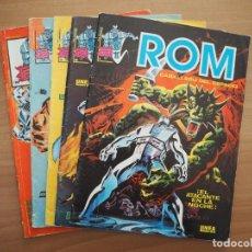 Cómics: LOTE ROM - NÚMEROS 1, 2, 3, 6 Y 8 - BILL MANTLO & SAL BUSCEMA. Lote 161937662