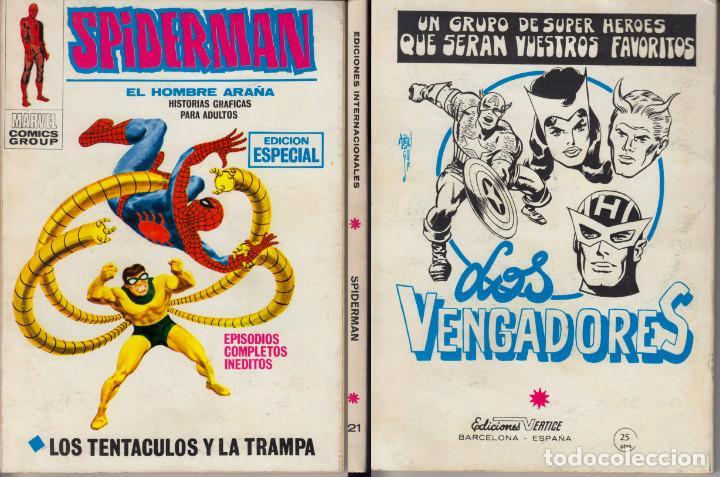 VERTICE V1 SPIDERMAN 21 (Tebeos y Comics - Vértice - V.1)