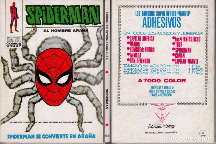 VERTICE V1 SPIDERMAN 44 (Tebeos y Comics - Vértice - V.1)