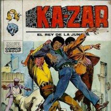Cómics: KA-ZAR EL REY DE LA JUNGLA Nº 5 - LA JUNGLA DE ASFALTO - VERTICE V.1 - DIFICIL - BIEN. Lote 162279298