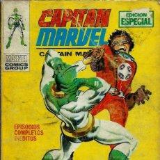 Cómics: CAPITAN MARVEL Nº 4 - ¡ MUERE TRAIDOR ! - VERTICE V.1 AÑOS 70 - VER DESCRIPCION. Lote 162286954