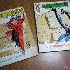 Cómics: LOTE 2 COMICS VERTICE VOL.1 LOS 4 FANTÁSTICOS Nº 55-57, TACO. Lote 134063878
