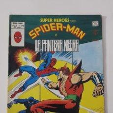Cómics: MARVEL COMICS - SUPER HEROES PRESENTA Nº 123 SPIDER-MAN Y PANTERA NEGRA VÉRTICE MUNDI COMICS 1979. Lote 162423738
