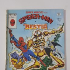 Cómics: MARVEL COMICS - SUPER HEROES PRESENTA VOL. 2 Nº 126 SPIDER-MAN Y LA BESTIA VÉRTICE MUNDI COMICS 1979. Lote 162423942