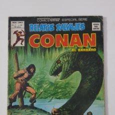 Cómics: MARVEL COMICS - RELATOS SALVAJES CONAN EL BÁRBARO VOL. 1 Nº 63 VERTICE MUNDI COMICS 1979. Lote 162426106