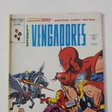 Cómics: MARVEL COMICS - LOS VENGADORES VOL. 2 Nº 49 VERTICE MUNDI COMICS 1980 AVENGERS. Lote 162426302