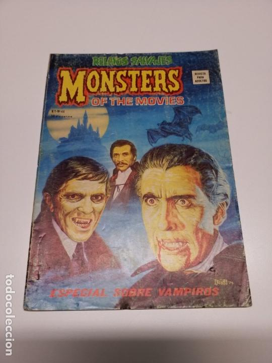 Cómics: RELATOS SALVAJES 46 V.1 MONSTERS OF THE MOVIES VÉRTICE - Foto 1 - 162430186