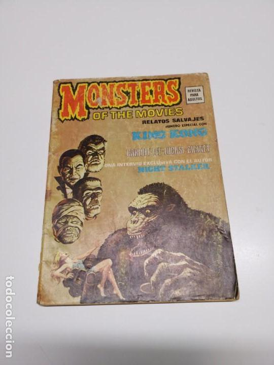 RELATOS SALVAJES 1 V.1 KING KONG MONSTERS OF THE MOVIES VÉRTICE (Tebeos y Comics - Vértice - Relatos Salvajes)