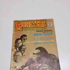 Cómics: RELATOS SALVAJES 1 V.1 KING KONG MONSTERS OF THE MOVIES VÉRTICE. Lote 162436430