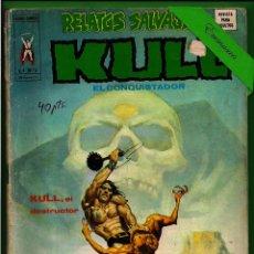 Fumetti: KULL EL CONQUISTADOR - V. 1 Nº 16 - KULL, EL DESTRUCTOR - VÉRTICE.. Lote 175402573