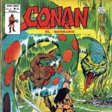 Fumetti: CONAN EL BÁRBARO- V-2- Nº 33 -JOHN BUSCEMA-ERNIE CHAN-1980- BUENO- ESCASO-LEAN- 1050. Lote 162616093