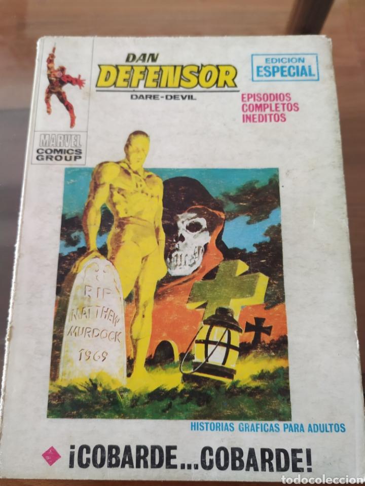 DAN DEFENSOR (DARE-DEVIL), ¡COBARDE...COBARDE! 1971 (Tebeos y Comics - Vértice - Dan Defensor)