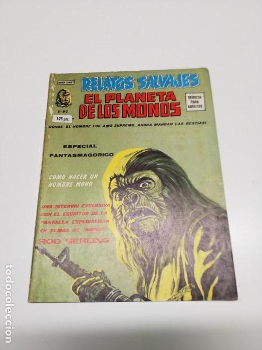 RELATOS SALVAJES 2 V.1 EL PLANETA DE LOS MONOS VÉRTICE (Tebeos y Comics - Vértice - Relatos Salvajes)