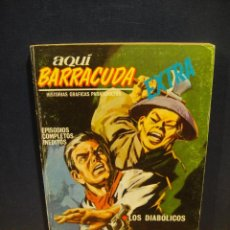 Cómics: AQUI BARRACUDA Nº 11 - VERTICE V.1 - BUEN ESTADO. Lote 162805466
