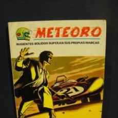 Cómics: METEORO Nº 6 - VERTICE V.1 . Lote 162806306