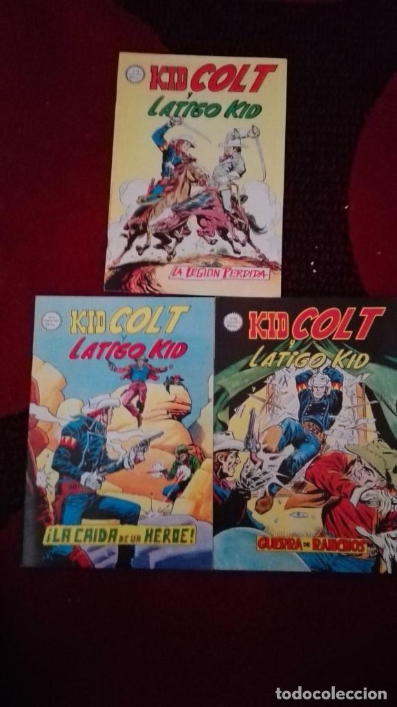 KID COLT NUMS 13, 14 Y 15 (Tebeos y Comics - Vértice - Surco / Mundi-Comic)