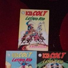 Cómics: KID COLT NUMS 13, 14 Y 15. Lote 162825058