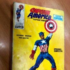 Cómics: COMIC CAPITAN AMERICA Nº1 DE LA COLECCION FACIAL 25 PTAS EDITORIAL VERTICE VOL 1. Lote 162932034
