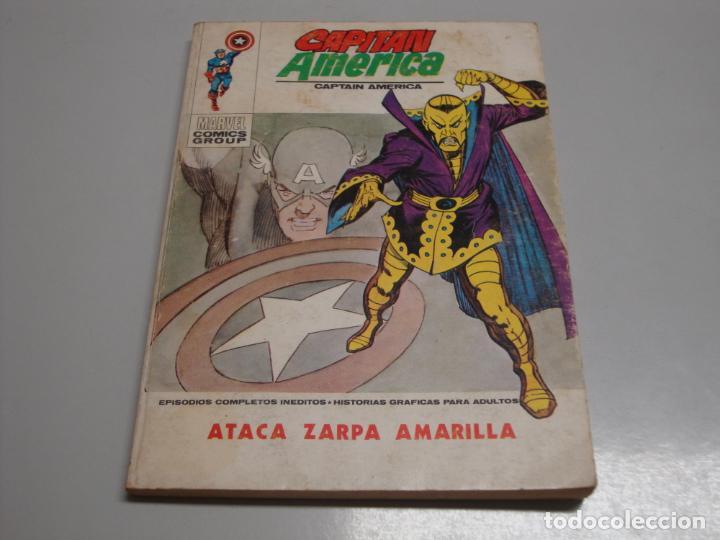 CAPITAN AMERICA VERTICE 33 (Tebeos y Comics - Vértice - La Masa)
