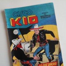 Cómics: CISCO KID Nº 13. CÓMICS VÉRTICE DEL OESTE. COLOR. JOSE LUIS SALINAS.. Lote 163423634