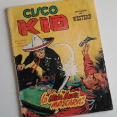 Cómics: CISCO KID Nº 9. CÓMICS VÉRTICE DEL OESTE. COLOR. JOSE LUIS SALINAS.. Lote 163423802