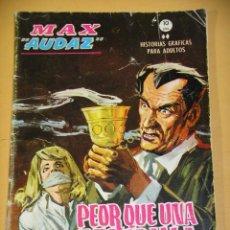 Fumetti: MAX AUDAZ Nº 16, GRAPA, 10 PTAS, ED. VÉRTICE, AÑO 1965. Lote 163806226
