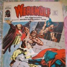 Cómics: WEREWOLF Nº 14 VERTICE EL HOMBRE LOBO. Lote 163853478