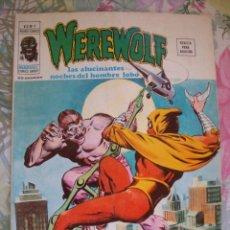Cómics: WEREWOLF Nº 9 VERTICE EL HOMBRE LOBO. Lote 163854094